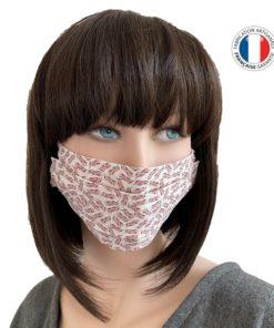 Masque Barrière Popeline Fabrication Artisanale
