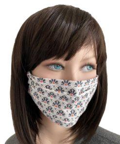 Masque Tissu Soleil Levant